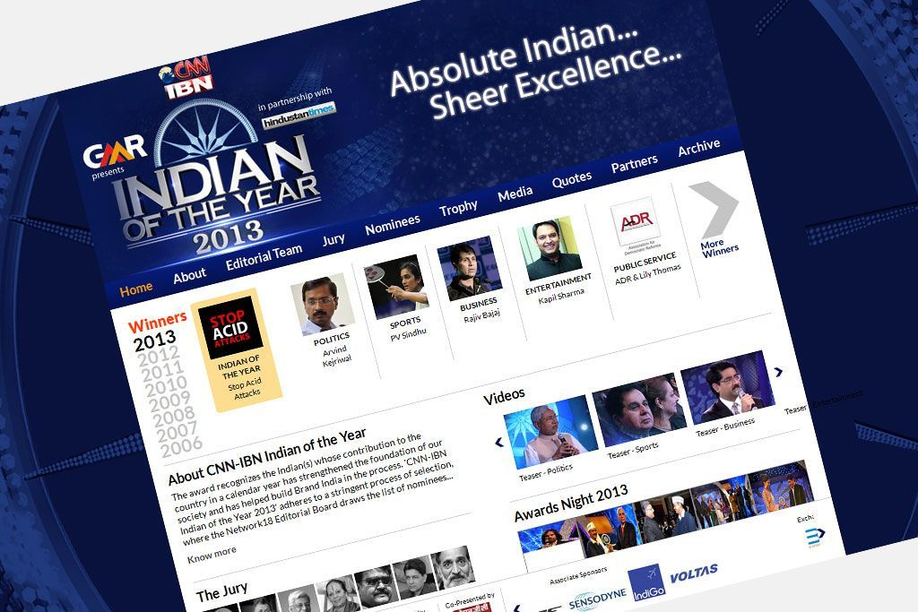 CNN-IBN Indian of the Year